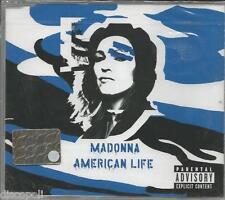 MADONNA - American life - CDs SINGOLO 2003 COVER BLUE SIGILLARTO SEALED