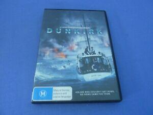 Dunkirk DVD Fionn Whitehead Tom Glynn-Carney Jack Lowden R4 Free Postage