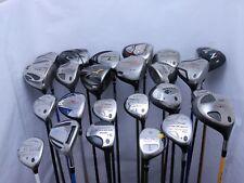 Lot of 24 Golf Club Driver Fairway Woods Taylormade Callaway Cobra Nike Titleist