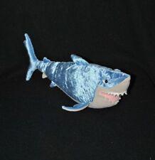 Peluche doudou DISNEY PIXAR NICOTOY gang des requins bleu beige 27 cm TTBE