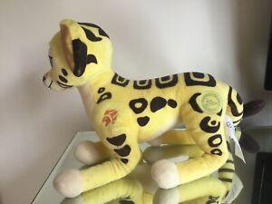 Disney Store Lion Guard King Cheetah Fuli Simba Stamped