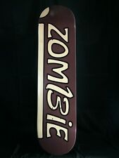 Skateboard deck Made In U.S.A. Deep dish Maple 7.5 or 7-1/2 Zombie iZomBie tm
