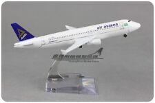 16CM air astana A320 Passenger Airplane Plane Metal Aircraft Diecast Model