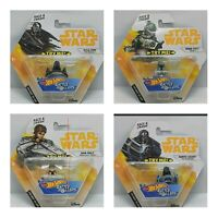 Star Wars HOT WHEELS Battle Rollers Kylo Ren,Bubba Fett, Hans Solo & Darth Vader
