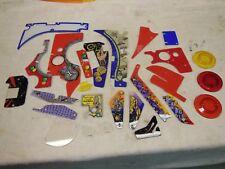 Williams Twilight Zone Pinball  Original NOS Plastic Parts LOT BARGAIN !