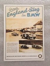 BMW/ England Seig Postcard 1st On eBay Car Poster. Own It!