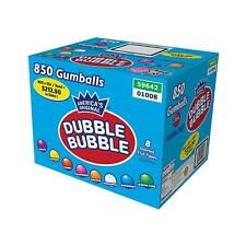 Dubble Bubble Assorted Gumballs, Select Size 24mm 850 ct