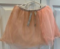 Crewcuts Girl's Peach color Tulle Skirts - Size 4-5