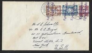 GREENLAND -EGEDESININDE TO USA COVER 1941 RARE