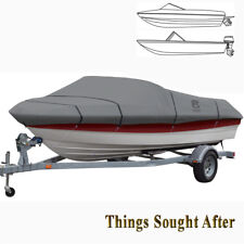 LUNEX RS-1 TRAILERABLE BOAT COVER for 22' 23' 24' foot V-Hull Runabout Mooring