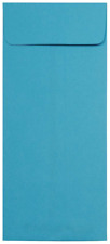 NEW JAM PAPER #12 Policy Business Colored Envelopes 4 3/4x11 Blue Recycled 50pk