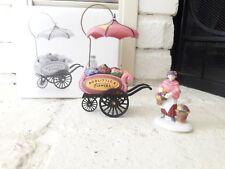 Dept 56 Chelsea Market Flower Monger and Cart