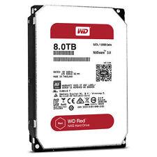 Western Digital 8TB RED NAS RAID WD Hard Drive 6gbs SATA 128MB WD80EFZX WD80EFAX
