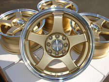"15"" Wheels Rims 4 Lugs Fit Miata Nissan 240sx Altima Cube Sentra Versa Scion IA"