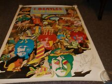"""The Beatles Yellow Submarine Poster, approx. 28""""x39"""""""