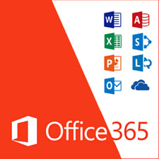 OFFICE 365 - Microsoft Office 2016 For Mac Home & Business - 5 PC Users 5 PC