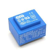 ERA EI38/13,6 Transformador Encapsuladas 3,2VA Primario 115V, Secundario 2x6V