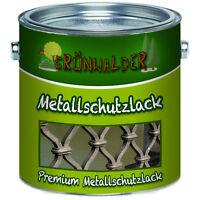 Grünwalder premium Metallschutzfarbe Lack 1L 2,5L 5L 10L RAL 7016 Anthrazitgrau