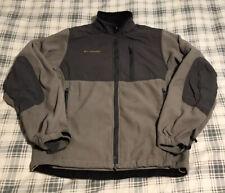 Men's Columbia Titanium Fleece Denali Outdoor Jacket Gray Size Small