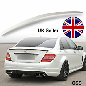 Mercedes Benz Class W204 SALOON 4D ABS Rear Boot Spoiler Wing AMG STYLE OME FIT