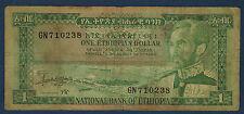 ETHIOPIE - 1 DOLLAR Pick n° 25a. de 1966. en B   GN 710238
