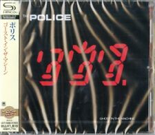 THE POLICE-GHOST IN THE MACHINE-JAPAN SHM-CD D50