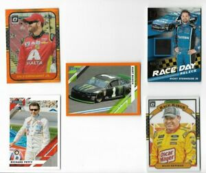 2020 Panini Donruss Racing BASE RELIC PARALLELS AND INSERTS. U PICK .