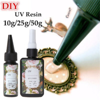 UV Resin Ultraviolet Curing Solar Cure Sunlight Activated Hard Glue Jewelry Tool