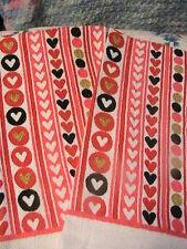 HEARTS & HEARTS~(1) One Whole KITCHEN, BATH, SHOP HAND COTTAGE TOWEL machne wash