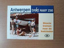 NMBS (SNCB) - Antwerpen trekt naar zee (dienstregelingen zomer 1999)