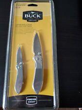 BUCK 2 PIECE KNIFE SET