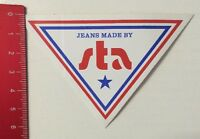Aufkleber/Sticker: Jeans - Made By Sta (10031625)