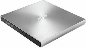 ASUS ZenDrive Silver 13mm External 8X DVD/ Burner Drive +/-RW with M-Disc Suppor