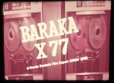 16mm Feature Film - Baraka X-77 1966 French-Italian-Spanish Spy Movie