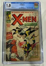 X-men 1 CGC 1.0 Cream/Off-White Pages. 1st Appearance of The X-Men and Magneto