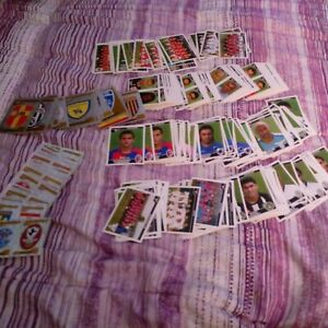Lotto 409 figurine calciatori panini 2004/2005.Nuove.Mai attaccate.Tutte diverse