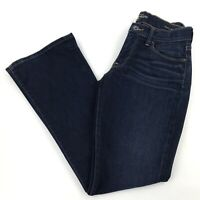 """Lucky Brand Womens Size 2/26 Ankle Sofia Boot Cut Jeans Dark Wash 29"""" Inseam"""