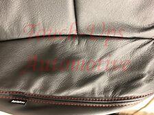 2007-2013 Toyota Tundra CrewMax KATZKIN Black Leather Seats Covers Replacement