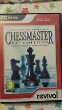 Chessmaster/Schach Master 10th Edition PC Spiel bitte siehe Foto's für Details