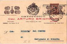 Bologna - Ortopedico Cav. Arturo Brighenti 1927