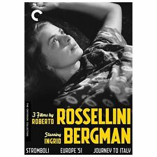 3 Films By Roberto Rossellini Starring Ingrid Bergman (Criterion Collection), Ve