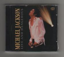 MICHAEL JACKSON - LIVE and DANGEROUS - 2CD live NO CDR-  SIAE  Italia SIGILLATO