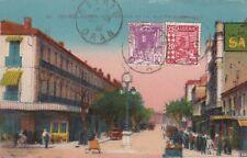 D.  Algerien  Sidi Bel Abbes   Rue Prudhom    Postkarte  1933