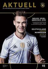 WM-Qualifikation 04.09.2017 Deutschland - Norwegen in Stuttgart