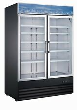 2 Door Upright Display Freezer - 29 CU Ft. D768BMF