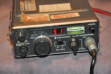 Kenwood TR-7500 2M portable FM transceiver. With issues