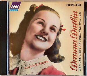 Deanna Durbin: Her Greatest Recordings 1936-1944 CD - D35