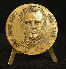 Médaille Abbé Franz Stock Neheim prêtre catholique allemand. Rodenguder medal 铜牌