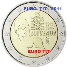 2 € SLOVENIE COMMEMORATIVE  2011    1  X  PIECE    ROZMAN-STANE       disponible