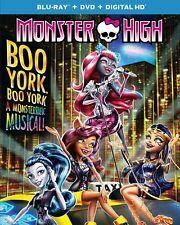 Monster High: Boo York, Boo York (Blu-ray + DVD + DIGITAL HD) NEW